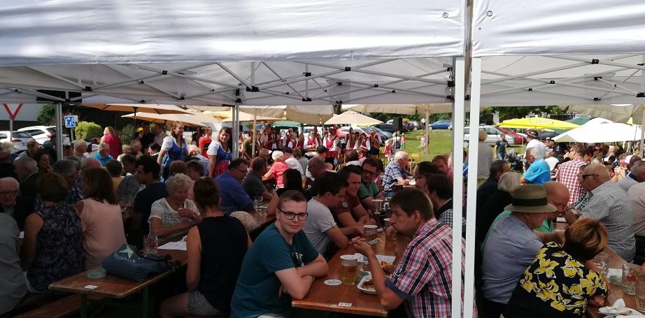 Frühschoppen der FF Steindorf - Auf ein schönes Fest!