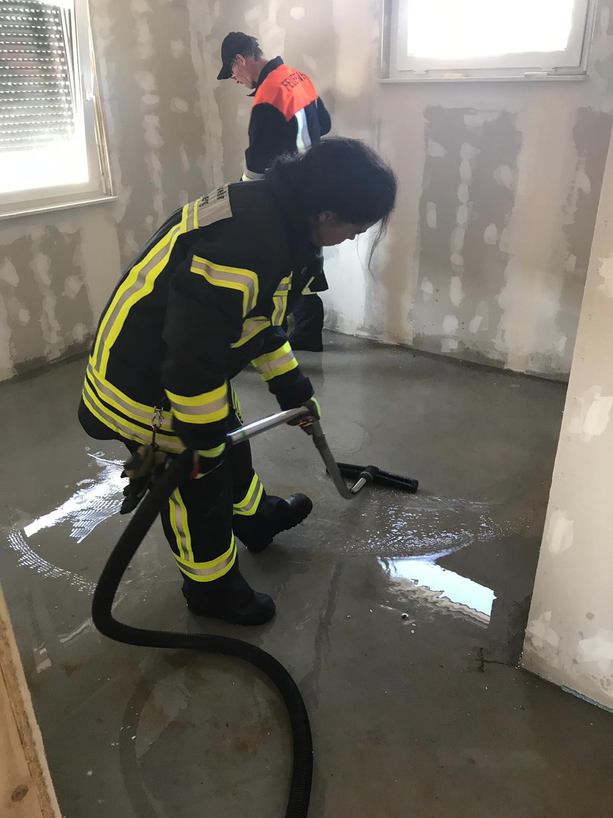 Einsatz – Wasser in Gebäude