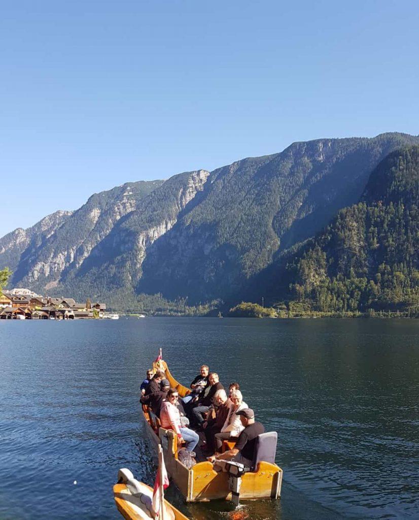 Vereinsausflug 2019 - Hallstatt Bootsfahrt