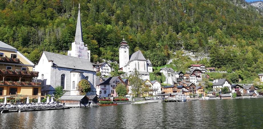 Vereinsausflug 2019 - Hallstatt - Bootsfahrt