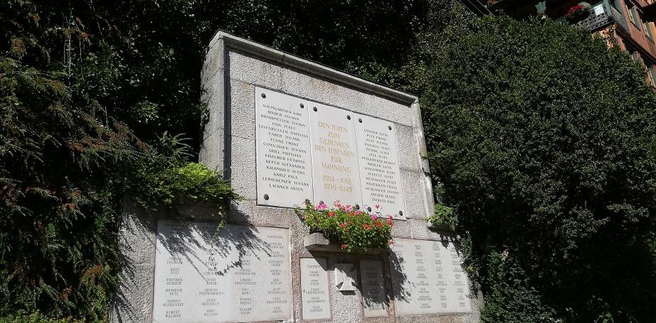 Vereinsausflug 2019 - Hallstatt - Kriegerdenkmal