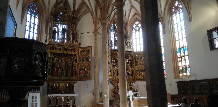 Vereinsausflug 2019 – Hallstatt – Pfarrkirche Mariä Himmelfahrt, auch Maria am Berg genannt