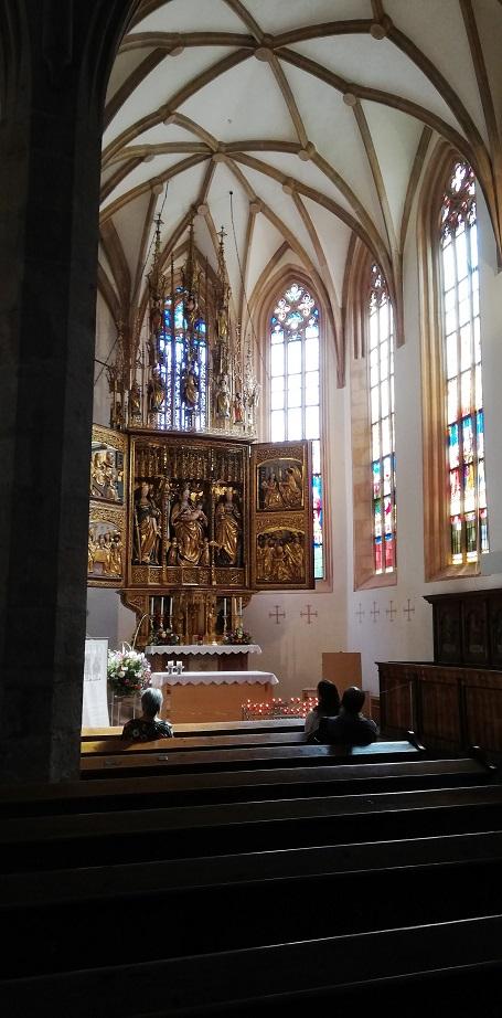 Vereinsausflug 2019 - Hallstatt - Pfarrkirche Mariä Himmelfahrt, auch Maria am Berg genannt