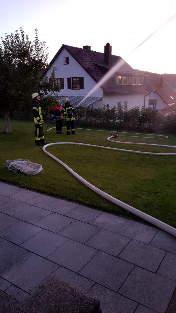 Übung - Brandschutzwoche 2019