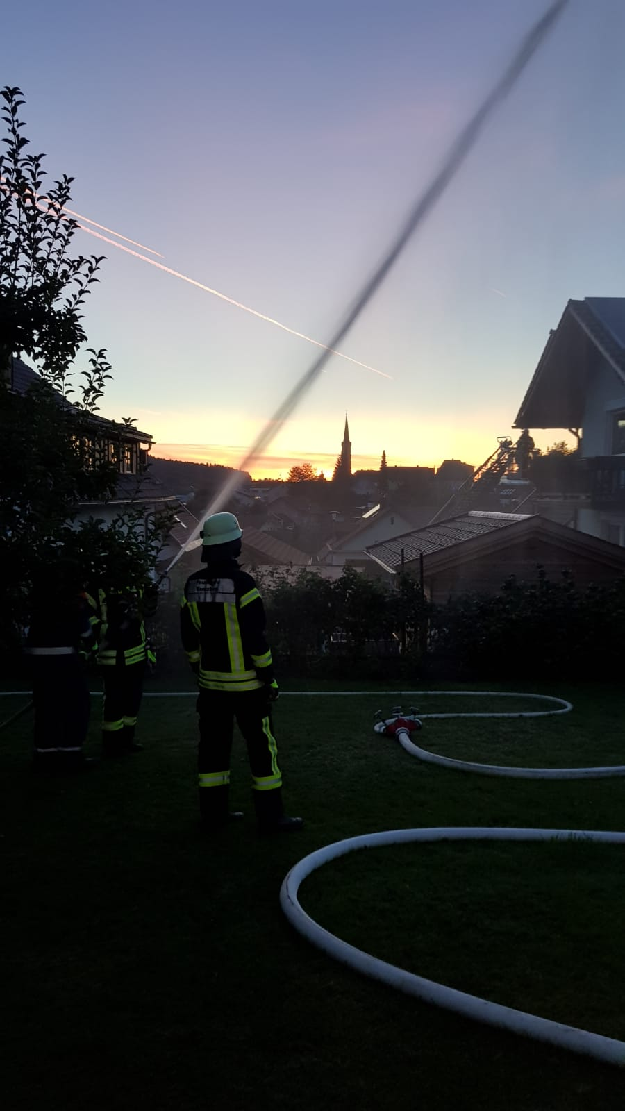 Übung – Brandschutzwoche 2019