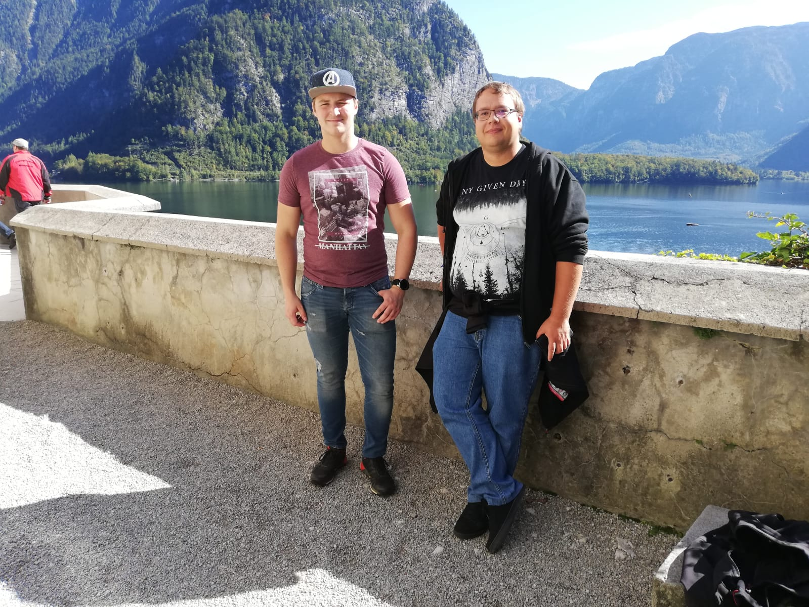 Vereinsausflug 2019 – Fabian Seidl und Patrick Praml