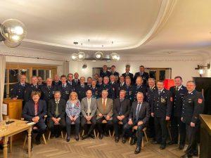 Feuerwehr Ehrenzeichen - Gruppenbild aller Teilnehmer