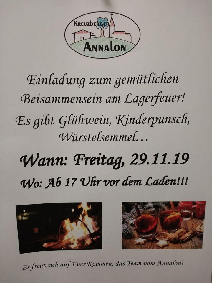 Annalon - Glühweinverkauf