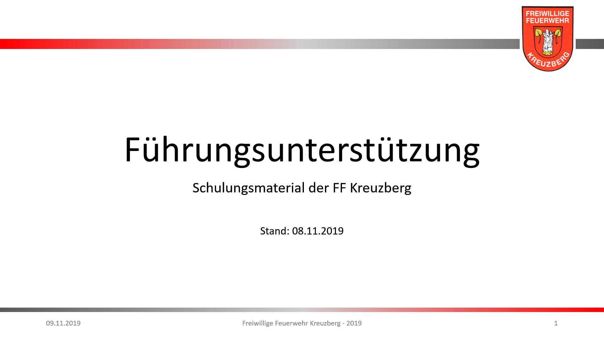 Hauptübung – 08.11.2019