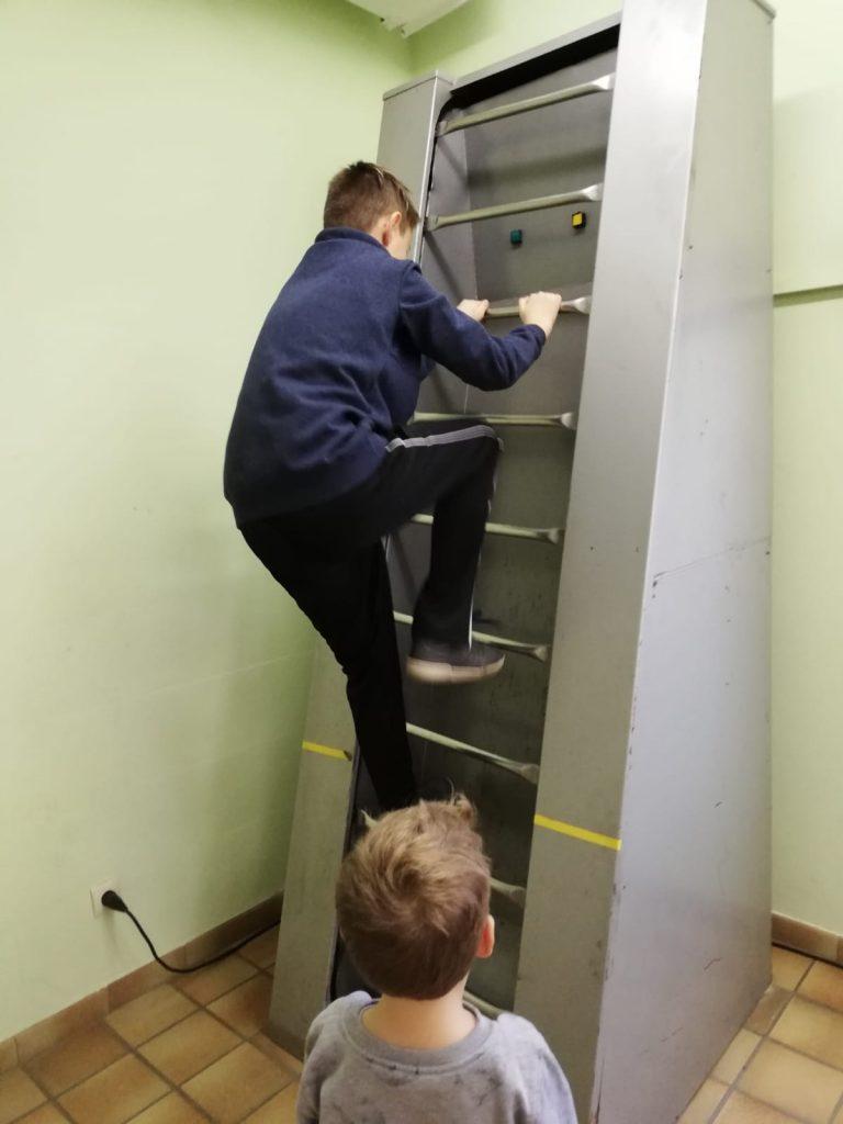 Ausflug Kinderfeuerwehr - Atemschutzstrecke