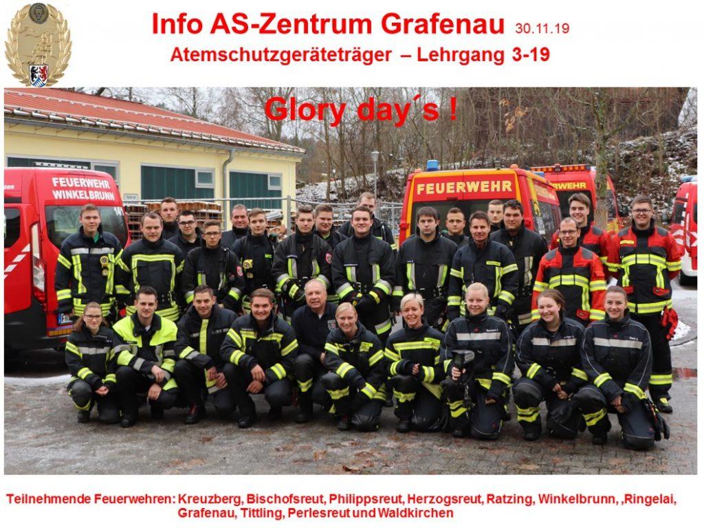 Atemschutzlehrgang 2019 - Quelle: Facebook (Norbert Schneider)