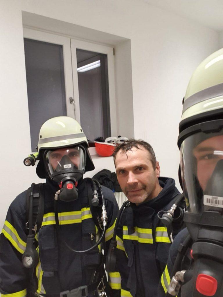 Atemschutzübung 10.01.2020