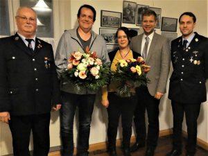 Generalversammlung 2020 - Blumen für die Damen.