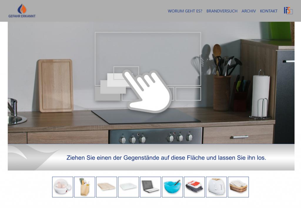 Infoseite: gefahr-erkannt.de
