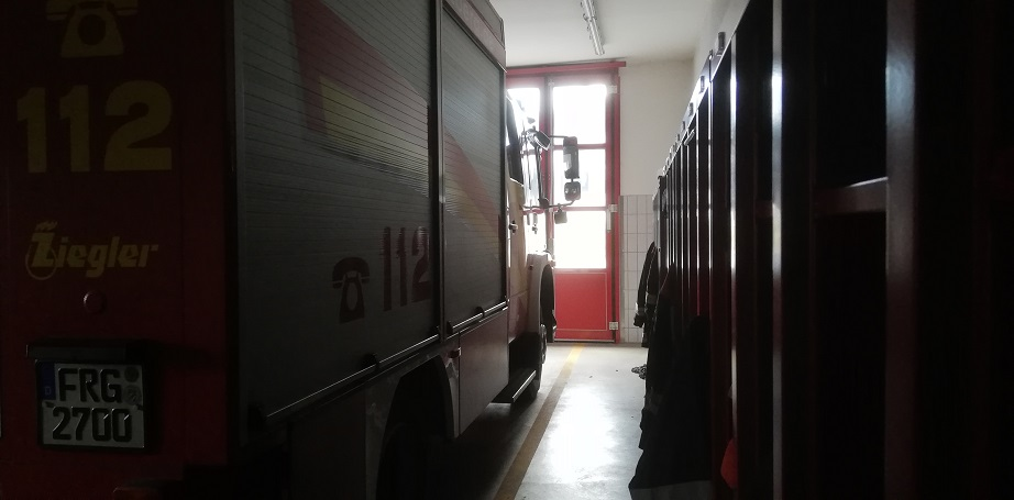 Feuerwehrhaus Kreuzberg - 04.04.2020
