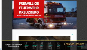 Homepage Hinweis zum Thema: COVID-19