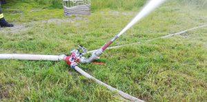 Jugendübung - Improvisierter Wasserwerfer - Aufbau