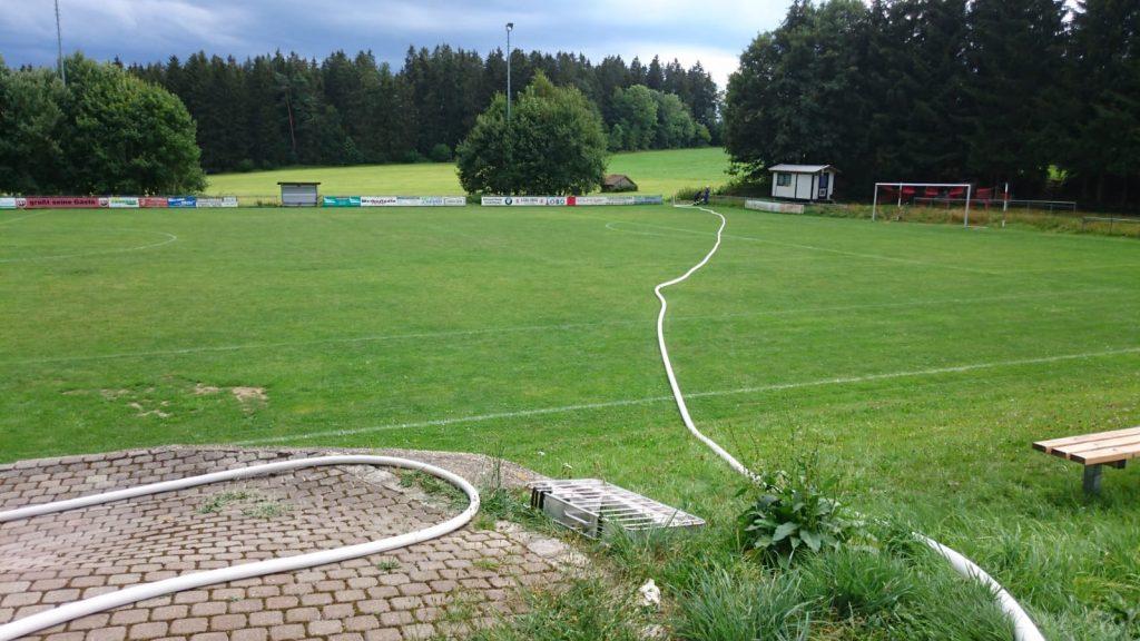 Jugendfeuerwehr - TSV Kreuzberg - Vereinsheim - B-Leitungen