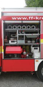 Unser LF10 - Geräteraum TS