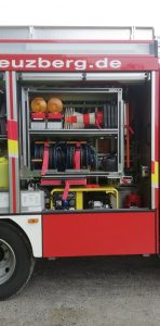 Unser LF10 - Geräteraum Technische Hilfeleistung