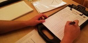 Übung - Funk und Führungsunterstützung - Aufträge und Kräfteübersicht
