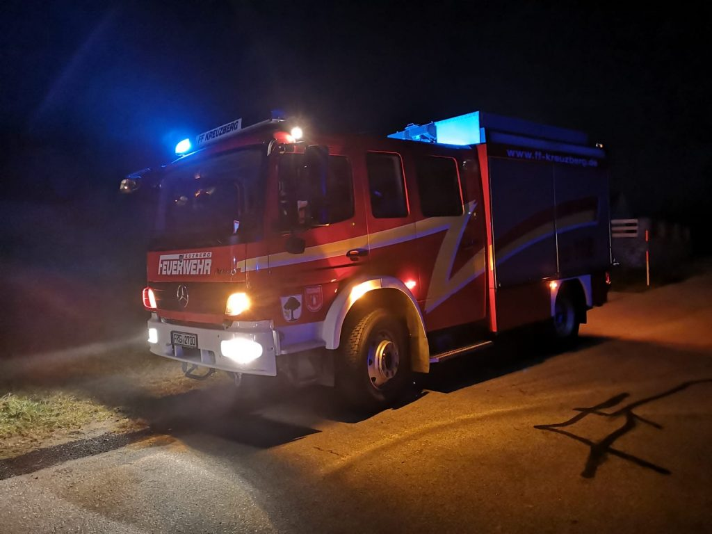 Verkehrsunfall 31.10.2020 - LF10 im Einsatz