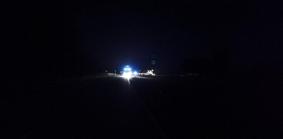 Verkehrsunfall 31.10.2020 - Vollsperrung