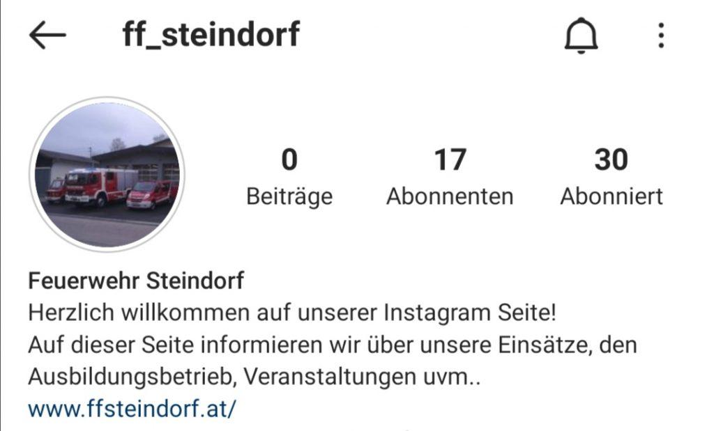 FF Kreuzberg -FF Steindorf - Neu auf Instagram