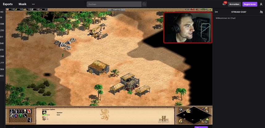 FF Kreuzberg - Online LAN - Age of Empires Stream vom zweiten Jugendwart
