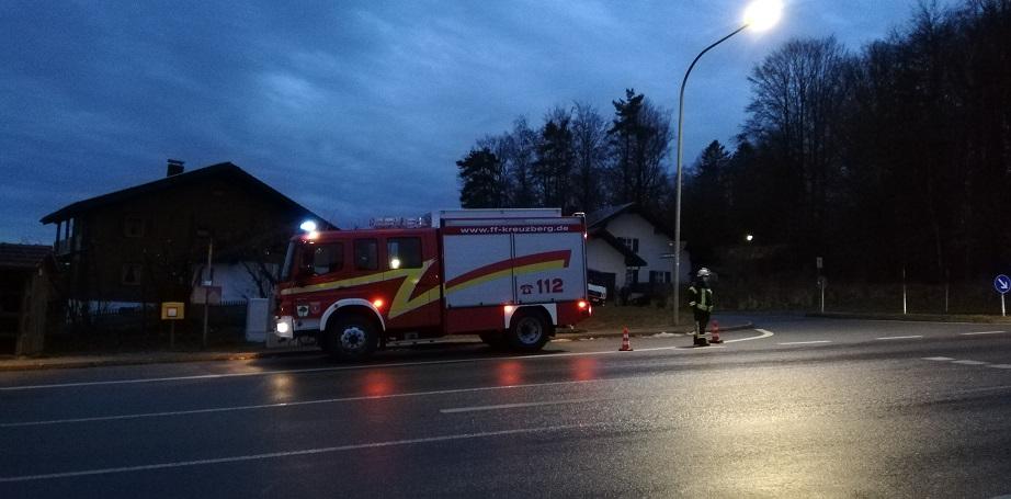 Verkehrsunfall 16.12.2020 - LF 10 - 8 Uhr morgens