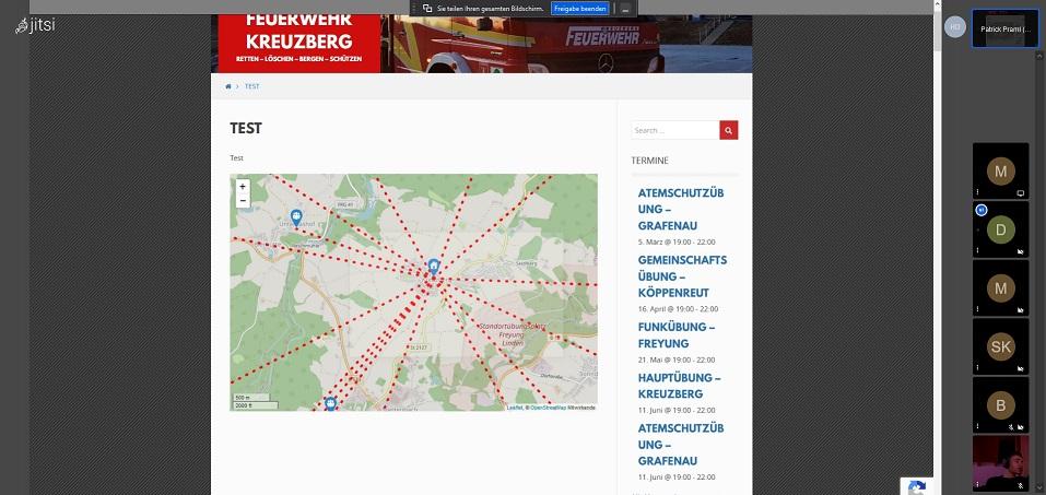 FF Kreuzberg - Online Meeting Jugend - Projekt 2 - Idee