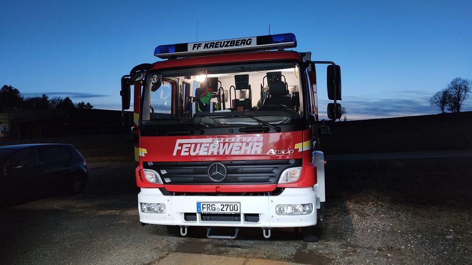 FF Kreuzberg - LF10 - Atemschutz Belastungsübung