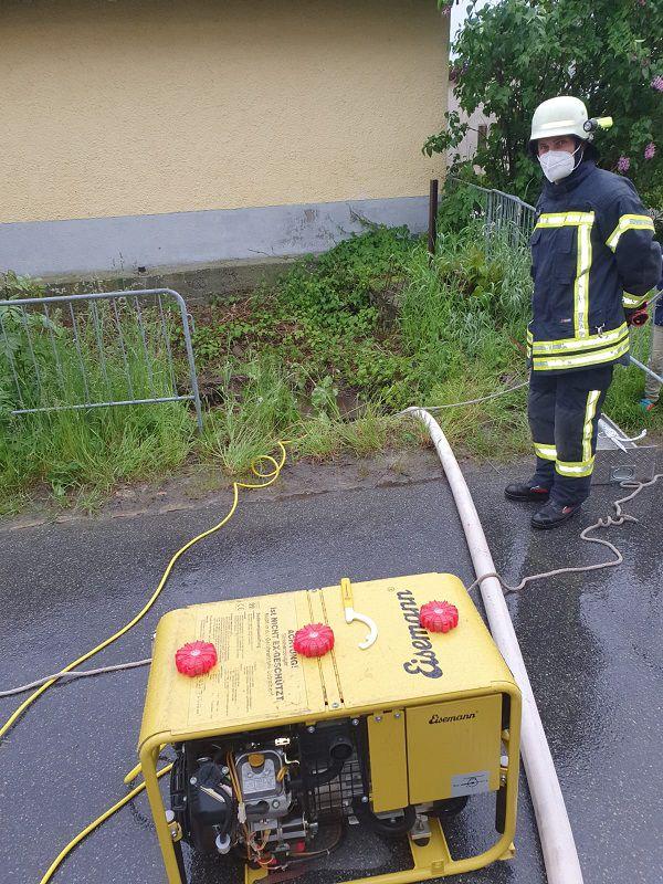 FF Kreuzberg - Stromaggregat im Einsatz