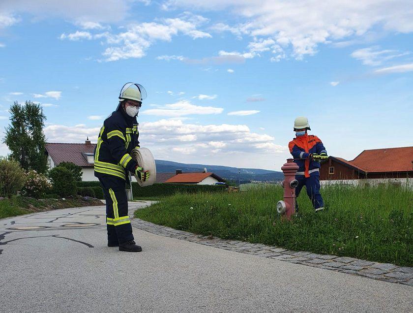 FF Kreuzberg - Zusammenarbeit in der Jugendfeuerwehr