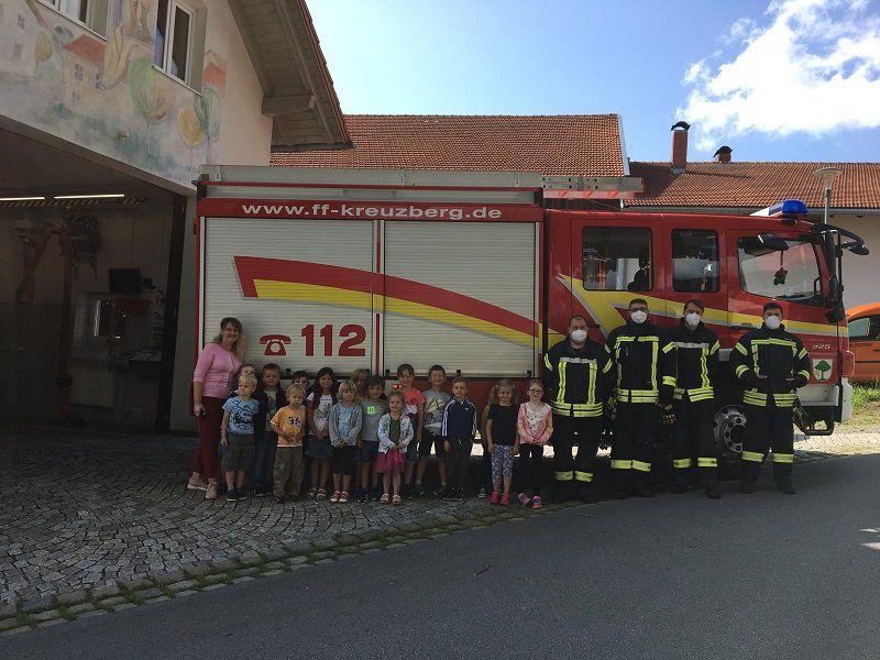 Besuch vom Kindergarten St. Anna