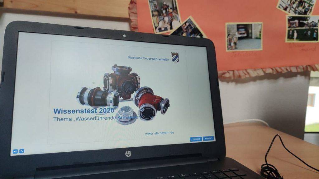 FF Kreuzberg - Jugendfeuerwehr 2021 - Wissenstest 2020
